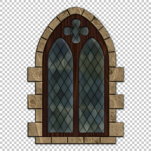 Gothic Window Outside Download